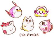 Animal Friend Friends