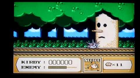 Kirby's Adventure NES Level 1 Boss