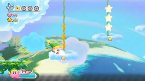 Kirby's Return To Dreamland - Nutty Noon ~ Stage 1 -HD-