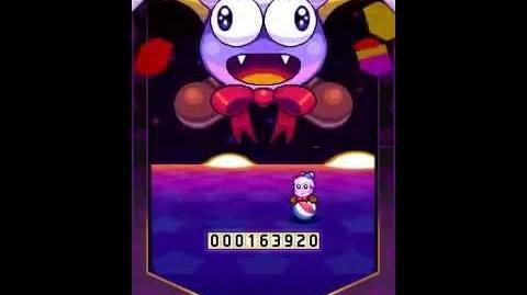 Kirby Mass Attack Subgames - Kirby Brawl Ball Bosses