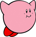 Kirby's Dreamland (Kirby (Hovering))