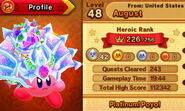 Profile (Team Kirby Clash DX)