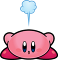 KSSU Kirby Crouching artwork