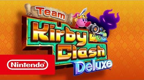 Broken Rainbow/Anunciados Team Kirby Clash Deluxe, Kirby's Blowout Blast y un nuevo juego
