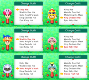 StreetPass Mii Plaza Hats