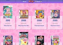 Kirby Website Epic Yarn Mistake