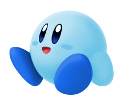SSBU Blue Kirby artwork