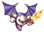 KSS Artwork Meta Knight