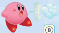 Kirby Fires Air Puffs