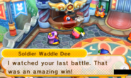 KBR Soldier Waddle Dee blue