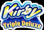 Kirby Triple Deluxe - Logo