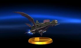SSB3DS Halberd Trophy