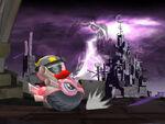 Wheelie Bike Castle Kirby Wii