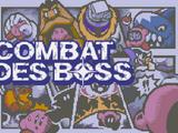 Combat des Boss
