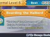Boarding the Halberd