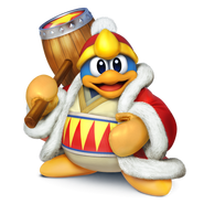 Artwork Rey Dedede (SSB4)