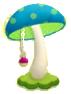 KEY Mushroom Lamp sprite