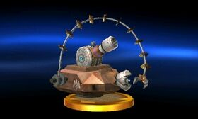SSB3DS Combo Cannon Trophy