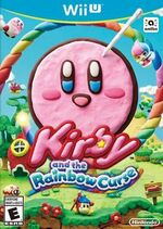 Kirby Rainbow Curse NA Box