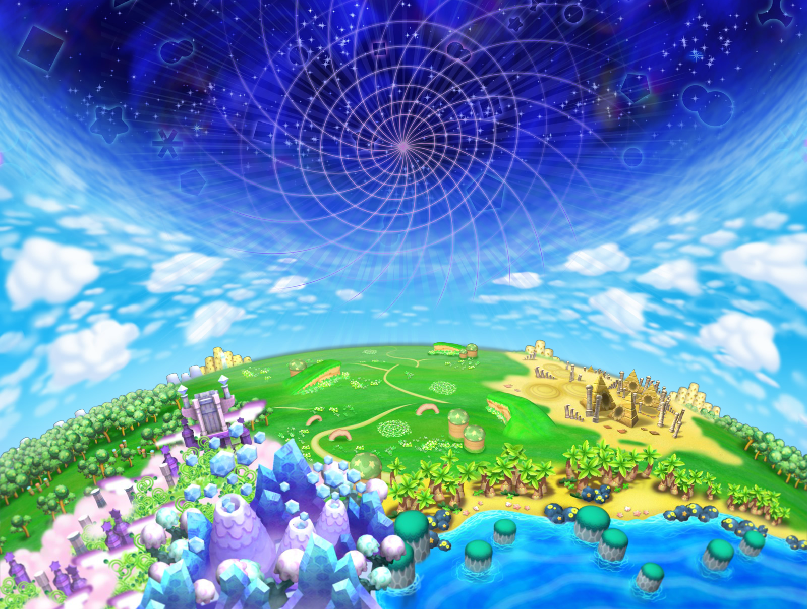 Dream Land | Kirby Wiki | FANDOM powered by Wikia on alexandria map, eclipse map, love map, america map, fiction map,