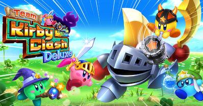 Team Kirby Clash Deluxe Logo
