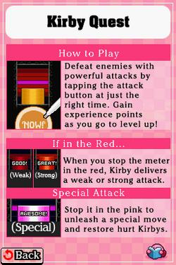 KMA KirbyQuest tutorial