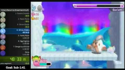 Kirby's Return to Dreamland Any% Speed Run (1 40 34)