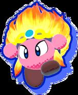 KSA Burning Leo artwork
