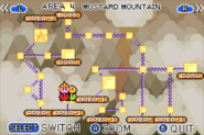 Mustard Mountain Map