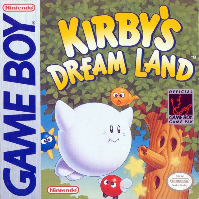 Image result for kirby's dream land game boy box art
