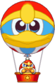 KingDedede and balloon