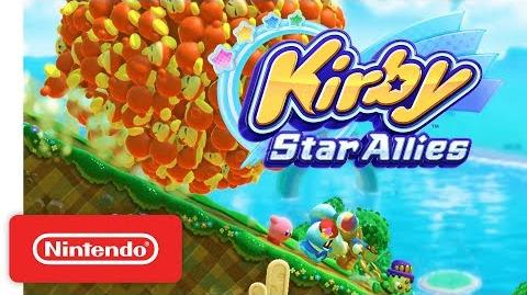Kirby Star Allies Trailer Nuevo - Nintendo Switch