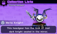 Dark Meta Knight Mask Headgear
