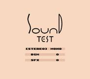 Sound Test (KDL3)