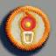 蜡烛徽章01 毛线卡比