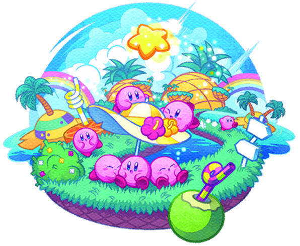 4c2f0a7b22 Places · Kirby Mass Attack artwork