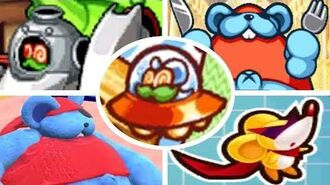 All Spinni, Doc and Storo Battles & Appearances in Kirby Games (2006-2018)