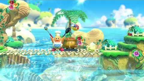 Kirby Star Allies Chef Kawasaki Showcase