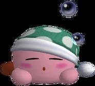 Kirby Sleep trophy 3688