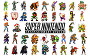 Nintendo SNES Wallpaper 1 by SolidAlexei