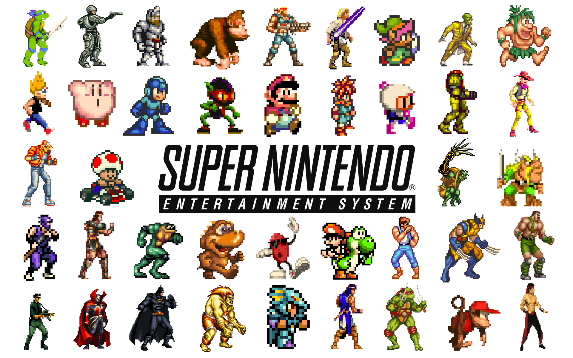 Super Nintendo Entertainment System Kirbypedia Fandom Powered By