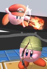 Kirby Habilidad de Copia - Ejemplos (SSBB)