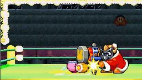 Kirby Super Star Ultra - Boss Masked Dedede