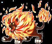 KNiD Fire Lion artwork