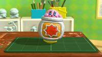 KatRC Kirby in the Cannon figurine