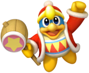 Kirby's Return to Dream Land Artwork Rey Dedede