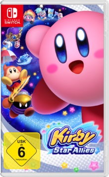 Kirby Star Allies - Cover