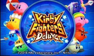 KirbyFightersDeluxeLogo