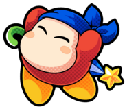 KBR Bandana Waddle Dee artwork