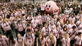 Kirby fans gum world record